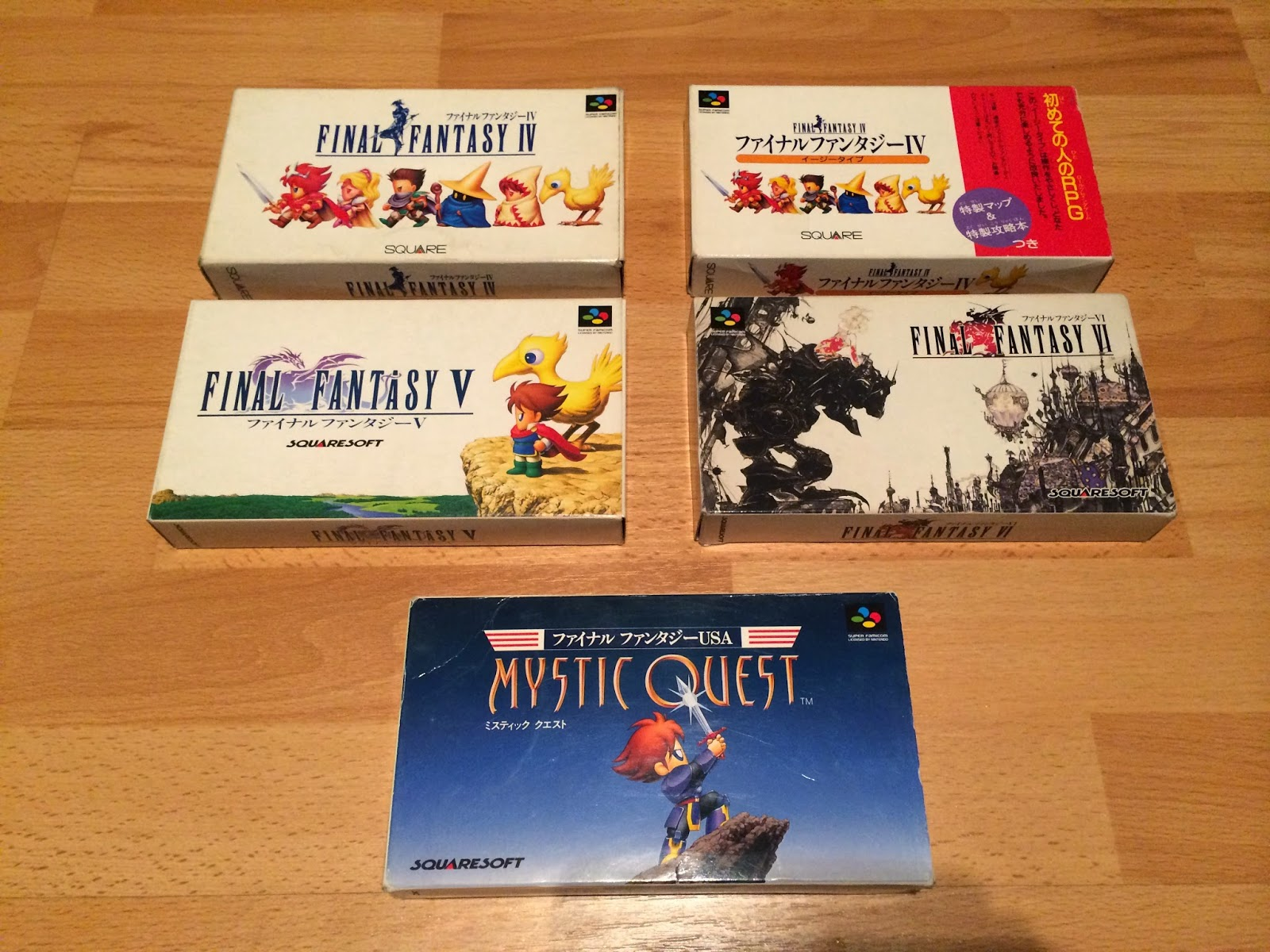 Full Set Jap : all 156 Final Fantasy Games for Japan ! | FF MUSEUM