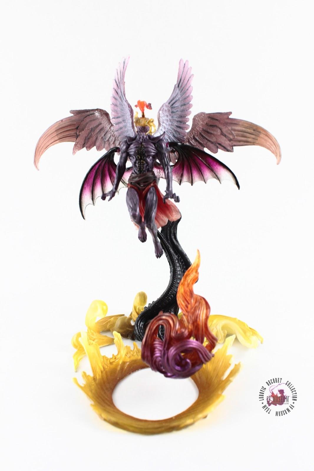 Final fantasy master creatures kefka figure