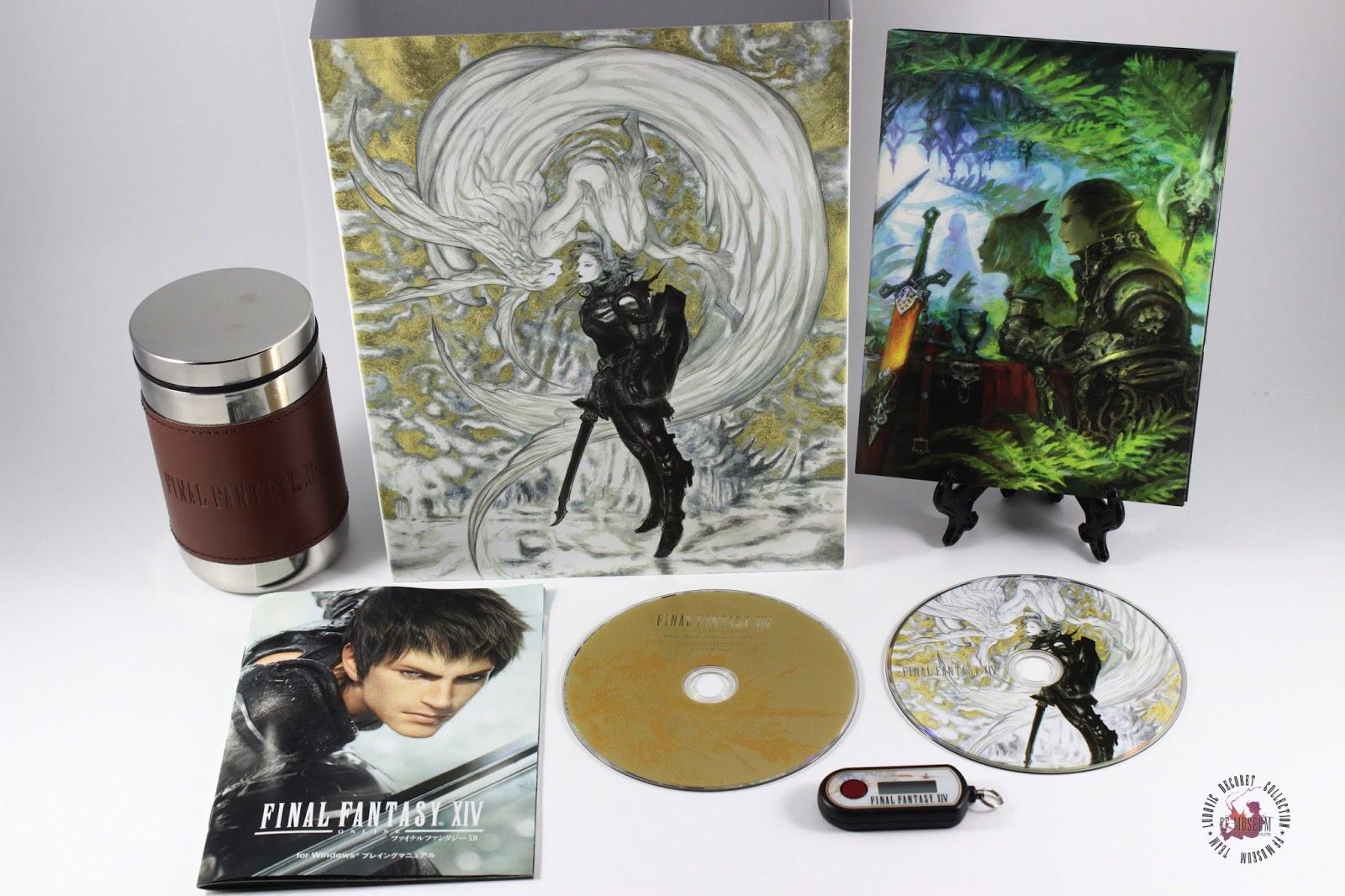 Final Fantasy XIV 1 0 Collector's edition Jap   FF MUSEUM