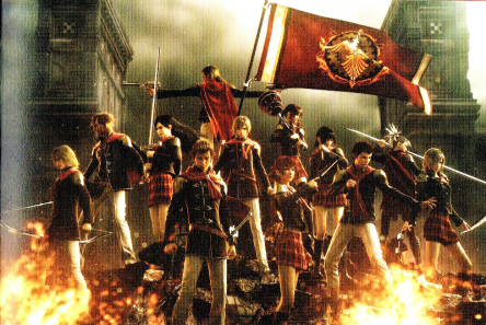 Final-Fantasy-Type-0-HD-All-Characters-Weapons